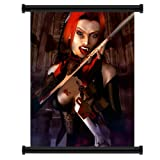BloodRayne Game Fabric Wall Scroll Poster (16x20) Inches
