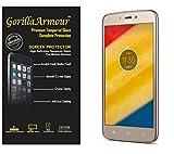 Gorilla Armour Premium Tempered Glass for Motorola Moto C, Moto C Plus   0.3 mm, oil coated tempered glass screen protector only for : Motorola Moto C, Moto C Plus