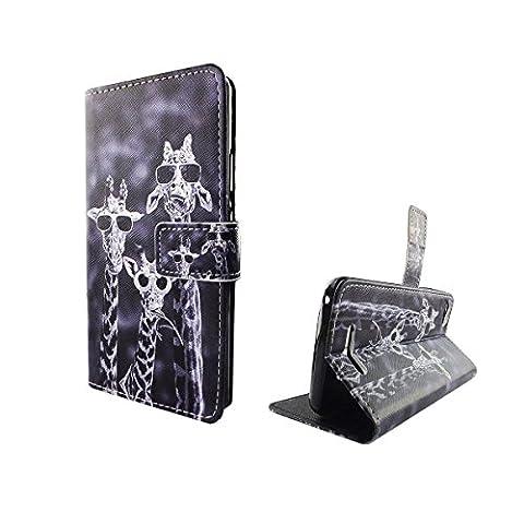 Housse Ordinateur Portable style cadre Flip Cover Case Étui de protection Motif Wallet