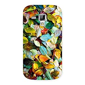 Beautiful Colorfull Leafs Back Case Cover for Galaxy S Duos