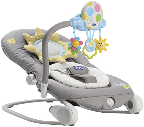 Chicco Balloon Baby Bouncer, Dark Grey 51k1RXzLQ8L