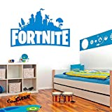 Suuyar Ps4 Vinyl Wandaufkleber Für Kinderzimmer Wandbild Kinder N Schlafzimmer Dekor Spielzimmer Antichrist Raumdekoration Spiel Poster, Blau