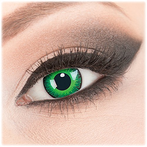 52e1c53aeab8e Evil Lens 1 Paar Crazy Fun- Shining -Kontaktlinsen mit Stärke -6