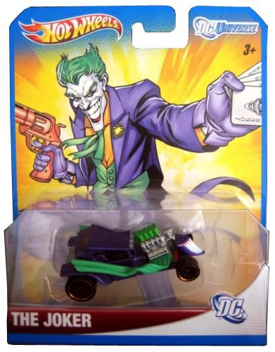 Mattel2012 Hot Wheels DC Universe THE JOKER 1:64 Scale Collectible Die Cast Car