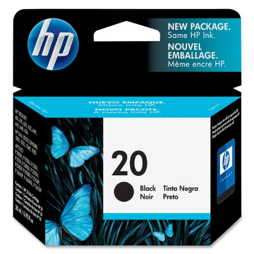 hpc6614d-hewlett-packard-no20-inkjet-cartridge-28ml-for-fax925xi-black-c6614de