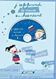 Album Russe en chantant (Livre + CD Audio)