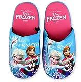 Trendstern® Trendprodukteshop Frozen Disney Hausschuhe Pantoffeln Neu Mädchen Schuhe Gr. 25-32 (27/28)