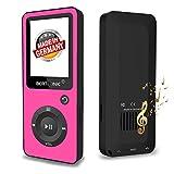 BERTRONIC  MP3-Player Royal 'Made in Germany' BC02 - Music/Video Player - 100 ore di riproduzione audio, contapassi, altoparlante – memoria ampliabile fino a 128 GB con scheda di memoria microSD