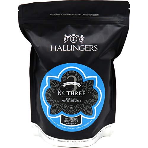 Hallingers Gourmet-Kaffee aus Guatemala, schonend langzeit-geröstet (500g) - No. Three (Aromabeutel) - zu Passt immer