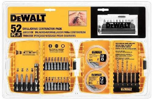 Dewalt dw2178-Treiber Contractor, 52Stück