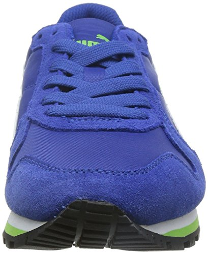 Puma ST Runner NL Jr Unisex-Kinder Sneakers Blau (surf the web-white-jasmine green 06)