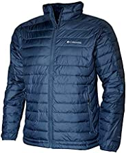 Columbia Men's White Out II Omni Heat Insulated Puffer Jacket (Collegiate Navy,