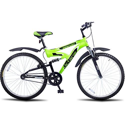 Hero Octane 26T Mercury Single speed Adult Cycle (Green)