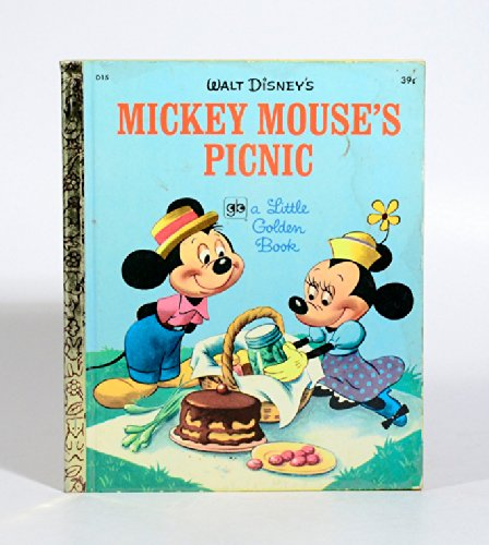 Walt Disney's Micky Mouse's Picnic. (Tenth Printing). (= A Little Golden Book).