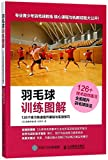 Illustrations of Badminton Training (Improve Your Basics and Practice through 126 Exercises) (Chinese Edition)