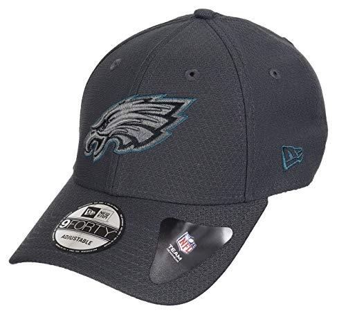 New Era Philadelphia Eagles 9forty Adjustable Cap NFL Hex Era Graphite - One-Size