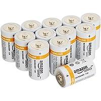 AmazonBasics - Pile Alcaline D, confezione da