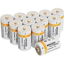 AmazonBasics - Pilas alcalinas D (12 unidades)