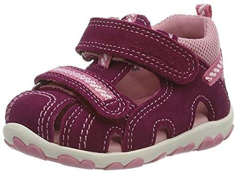 Superfit Mädchen Fanni Geschlossene Sandalen, Pink (Masala), 20 EU