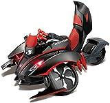 Maisto Tech R/C Scorpion: Ferngesteuertes Fahrzeug mit Drei Rädern, ab 8 Jahren, mit Fernbedienung, 34 cm, schwarz-rot (581182)