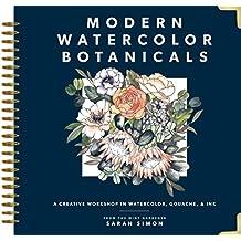 Modern Watercolor Botanicals (English Edition)