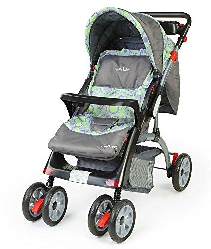 - 51k1dh6AzZL - LuvLap Baby Stroller Pram Cruze Green home - 51k1dh6AzZL - Home