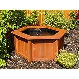 Ubbink ubbink cadre en bois d coratif pour bassin quadra c3 cuisine maison - Bassin jardin bois reims ...