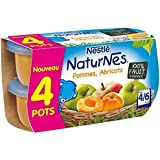 Nestlé Naturnes pommes abricots 4 x 130 g - ( Prix Unitaire ) - Envoi Rapide Et Soignée