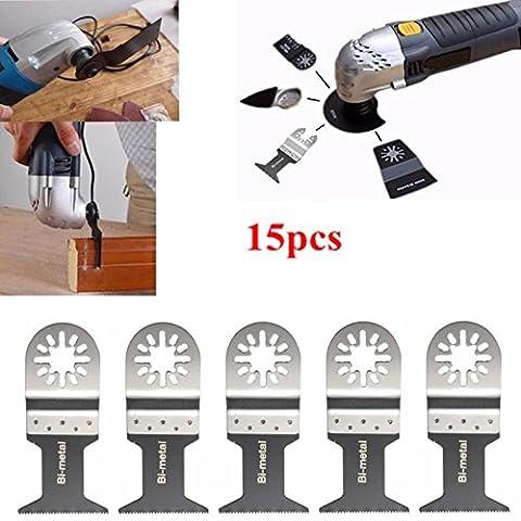 Outil Multifonction Electrique - BABAN 15PCS Outil Multifonction Lame de SciePour