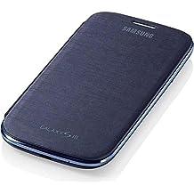 Samsung Flip - Funda para móvil Galaxy S3 (Permite hablar con la tapa cerrada, sustituye a la tapa trasera), azul
