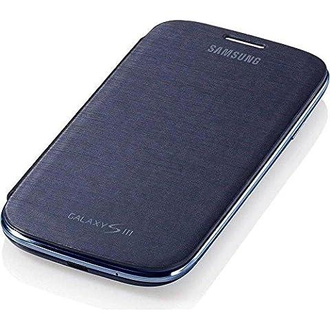 Samsung Flip - Funda para móvil Galaxy S3 (Permite hablar con la tapa cerrada, sustituye a la tapa trasera),