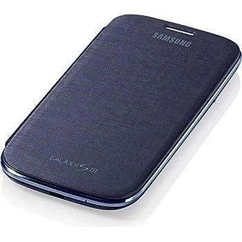 Samsung Original schützende Display-Klappe / Flip-Cover EFC-1G6FBECSTD (kompatibel mit Samsung Galaxy S3 I9300) pebble blue