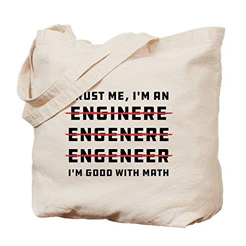 Lustig Engineering Geschenke (CafePress–Trust Me I 'm An Engineer–Leinwand Natur Tasche, Reinigungstuch Einkaufstasche Tote S khaki)
