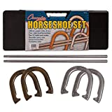 Best Champion Sports Games For Adults - Champion Sports Steel Horseshoe Set Review