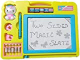 Best Creativity for Kids Board Game For Kids - Blossom Two Sided Educational Writing/Drawing Board with Magic Review