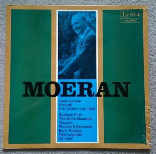 E.J. Moeran. Cello Sonata, Prelude for Cello and Piano, Stalham River, The White Mountain and other pieces. Lyrita original English stereo 1972.