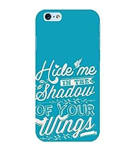 FUSON Hide Me Shadow Wings 3D Hard Polycarbonate Designer Back Case Cover for Apple iPhone 6s Plus :: Apple iPhone 6s+