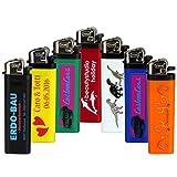 Druckspezialist 250 Feuerzeuge Reibrad beidseitig mit Fotodruck 4-farbig von Ihrer Datei Logo Werbung 10-2000 Stück