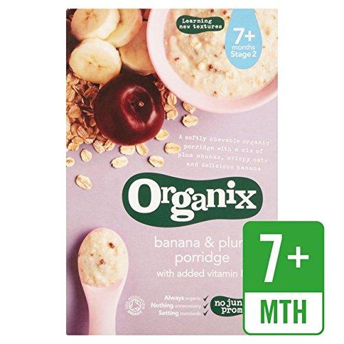 Organix Banana & Plum Porridge Stufe 2 200g (Organix Set)