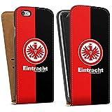 Apple iPhone 6 Tasche Schutz Hülle Walletcase Bookstyle Eintracht Frankfurt Fanartikel SGE Bundesliga