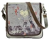 Sunsa Tasche Damen Herren Umhängetasche Messengertasche Schultertasche Studententasche Reisetasche klein Canvas Taschen Handtasche Crossbodytasche Damentasche Herrentasche modisch Vintage Retro