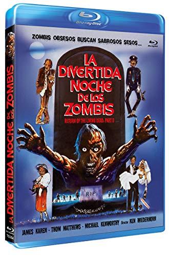 La Divertida Noche de los Zombies BD 1988 Return of the Living Dead Part II