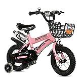 Children Es 12 | 14 | 16 | 18 | 20 Zoll Outdoor Child Baby Kid Mountainbike Boy ' S Girles Gift Für 2-11 Jahre Alt Mit Flash Training Wheel | Eiserner Korb | Wasserflasche Sichere Dämpfung Rosa