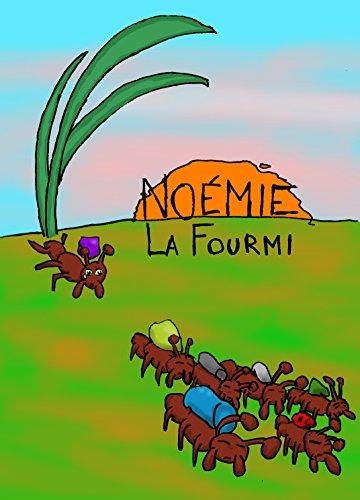 Couverture du livre Noémie la fourmi