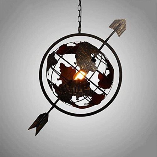 GBYZHMH Kronleuchter nordische Postmoderne Einfache kreative Bügeleisen Globen runden Pfeil Kronleuchter (Edelstein-globen)