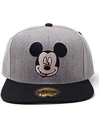 46fbc8f275f5 Mickey Mouse Casquette De Baseball Melange Face Nouveau Officiel Disney  Snapback