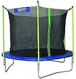 Best Sporting Garten Trampolin Scout 65, Ø 305 cm, Outdoor Trampolin mit Sicherheitsnetz, blau