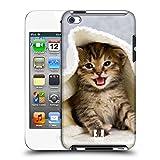 Head Case Designs Kätzchen In Einem Warmen Tuch Katzen Ruckseite Hülle für Apple iPod Touch 4G 4th Gen