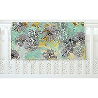 Kess internos de Zara, Martina MANSEN Mint oro jardín verde gris forro polar manta para