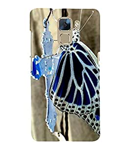 Vizagbeats butterfly on cross Back Case Cover for Huawei Honor 7